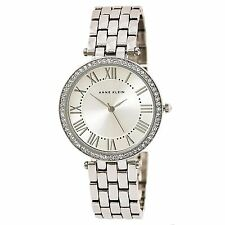 Anne Klein 2231SVSV Women's Silver Tone Dial Steel Bracelet Watch