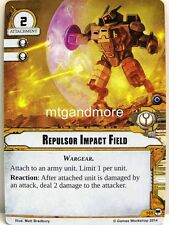 Warhammer 40000 Conquest LCG-propulsori Impact Field #165 - Base Set