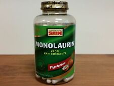 Health From the Sun Monolaurin From Raw Coconuts 180 Capsules