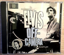 ELVIS PRESLEY OFF CAMERA PROMO SAMPLER  1997 EC 10 TRACKS