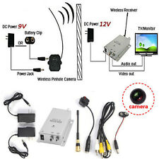 Mini Wireless TV System Nanny Micro Camera Transmitter Receiver Full Kit New BH