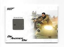 2014 JAMES BOND ARCHIVES #JBR37 HOVERCRAFT SEAT RELIC #145/500 VARIANT