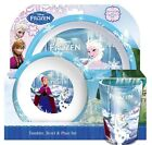 Disney Frozen Anna Elsa Olaf Dinner Breakfast Mug Bowl Plate Set Brand New Gift
