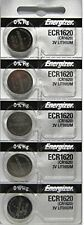 10 Pcs Energizer CR1620 Battery ECR1620 CR 1620 3V Lithium Batteries