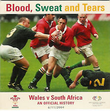 Wales v South Africa Official Rugby History DVD Blood, Sweat and Tears