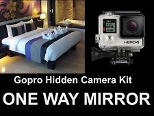 GOPRO Hidden Camera Kit,Turn Your Gopro Into a Spy Camera! One / Two Way Mirror