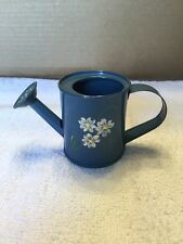 Hand Painted Floral Design Miniature Water Can