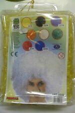 CARNEVALE CARNIVAL TOYS PARRUCCA WIG CAPELLI RICCI GIALLI  YELLOW CURLY ART 2232