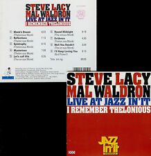STEVE LACY & MAL WALDRON  I remember thelonious  LIVE AT JAZZ IN' IT 1992