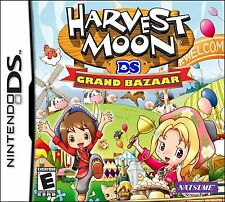 Harvest Moon: Grand Bazaar [Nintendo DS DSi, Natsume, Farm Trade Sim RPG] NEW