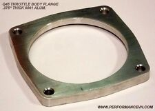 Performance VH 82MM Billet Throttle Body Flange Fits Infiniti Q45 VH45DE