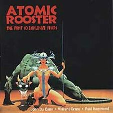 The First 10 Explosive Years by Atomic Rooster (CD, May-2001, Angel Air Records)