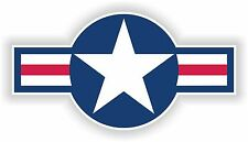 1x STICKER US AIR FORCE STAR decal US UNITED STATES