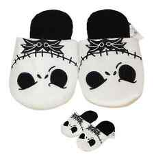 Xmas Gift Nightmare Before Christmas Jack Skellington Soft Adults Warm Slippers