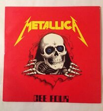 Metallica Cee Four 2x Vinyl LP Album Record Screaming Oiseau Rare Original Live