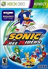 SONIC FREE RIDERS XBOX 360 KINECT NEW! RACE BIKES, JET SKIS, MINE KARTS! FAMILY
