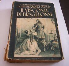 IL VISCONTE DI BRAGELONNE Dumas vol. II 1947 ed. LUCCHI romanzo storico libro