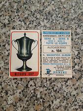 MITROPA CUP N. 164 album CALCIATORI PANINI 1971-72 NUOVO CON VELINA DA BUSTINA