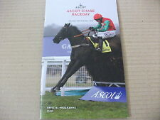 ASCOT RACE CARDS ~ 20TH FEBRUARY 2016 ~ BETFAIR ASCOT CHASE & SILIVINIACO CONTI