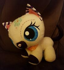 Littlest Pet Shop Siamese Cat Kitten Plush Doll Toy Hasbro LPS VIP's Collar 8""