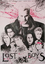 "001 The Lost Boys - 1987 American Horror Film Movie 14""x20"" Poster"