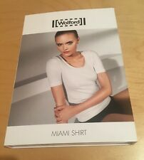 WOLFORD MIAMI T SHIRT / TOP BLACK BNIB RRP £95 Medium UK 14/16 US 12/14 EU 40/42