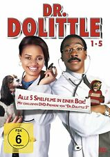 DR DOLITTLE Teil 1 2 3 4 5 Kyla Pratt EDDIE MURPHY 5 DVD Box Doctor Collection