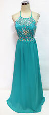 MASQUERADE Turquoise Formal Prom Evening Gown 5 - $170 NWT