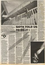 19/8/89Pgn14 Article & Picture 'goth Told Us To Do It!' Love And Rockets In The
