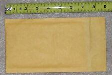 5 padded bubble mailer envelope #000 NEW kraft 4 x 8