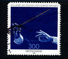 R607 Germania 1998 sg2881 300pf Stato Sassone ORCHESTRA 450th Anniversario USATO