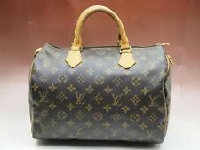 AUTHENTIC LOUIS VUITTON SPEEDY 30 MONOGRAM HANDBAG PURSE