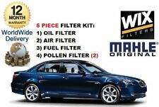FOR BMW 535D 3.0TD 12/2004-   SERVICE KIT OIL AIR FUEL POLLEN (5) FILTER KIT