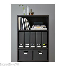 IKEA BILLY Libreria, marrone-nero 40x28x106 cm