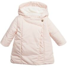 CHLOE PALE PINK PADDED BABY COAT 2 YEARS