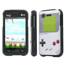 LG Optimus Fuel / Zone 2 Total Cover Phone Case - Game Boy