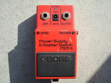 1985 BOSS POWER SUPPLY & MASTER SWITCH PSM-5 PSM5 - MADE IN JAPAN