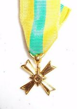 SOUTH VIETNAM, MEDAL FOR MERIT,CHONG MY, WOLFE BROWN, NO BROOCH, MINI SIZE