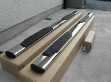 2007 - 2012 Isuzu D Max Rodeo Side Bars Steps Tubes Running Boards 4x4