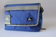 "GREGORY MOUNTAIN ""CIVILIAN MESSENGER BAG"" TRACK CITY SERIES  MEDIUM HALO BLUE"