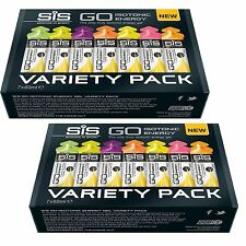 SIS GO Gel energetico isotonica Variety Pack 14 x 60ml BUSTINE x 2 scatole