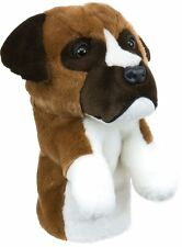 Boxer Golf Club Animal Headcover - Dog Headcover Driver Daphnes Golf Club Cover