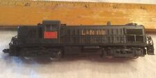 Vintage L&N 118 Locomotive Train~ Made in Japan~Black~N Gauge