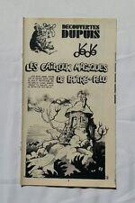 BD - Supplement Spirou n 1898 Les Cailloux Magique de phare-feu Maxi récit DEDE