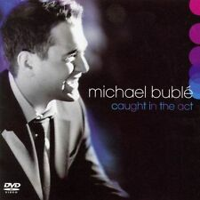 MICHAEL BUBLE CD - CAUGHT IN THE ACT [CD/DVD](2005) - NEW UNOPENED