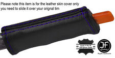 PURPLE STITCH E BRAKE HANDLE LEATHER COVER FITS PONTIAC FIERO GT SE V6 1984-1988
