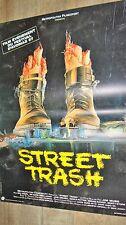 STREET TRASH   !  affiche cinema horreur gore