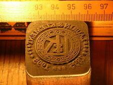 Laurin & Klement logotipo bonito Oldtimer sello/sello de metal