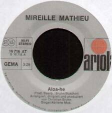 """MIREILLE MATHIEU ~ ALOA-HE / ABSCHIED VON DIR ~ 1976 GERMAN 7"""" SINGLE"""
