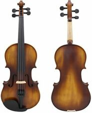 Astonvilla AV-506 4/4 Spruce Solid Wood Vintage Violin with Case and Accessories